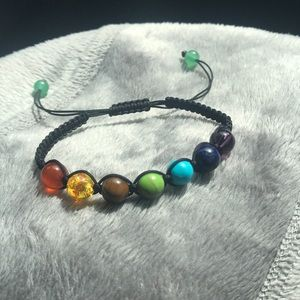 Jewelry - Chakra bracelet, 8mm